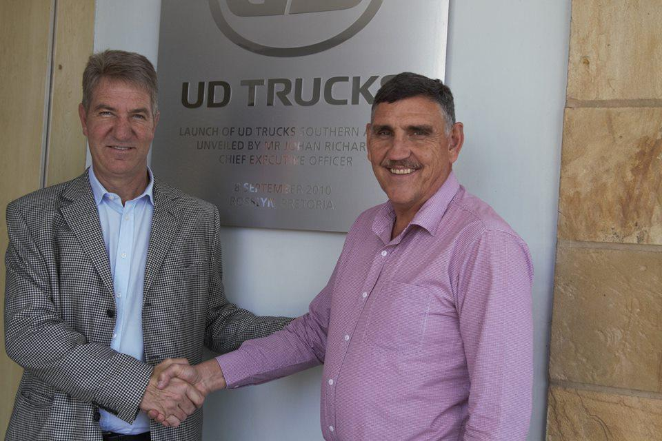 UD Trucks announced, a new dealership in Harrismith